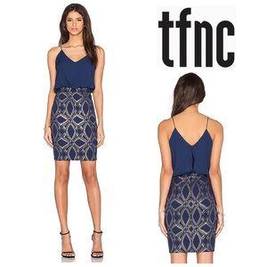 Revolve TFNC London Kirsty Dress in Navy